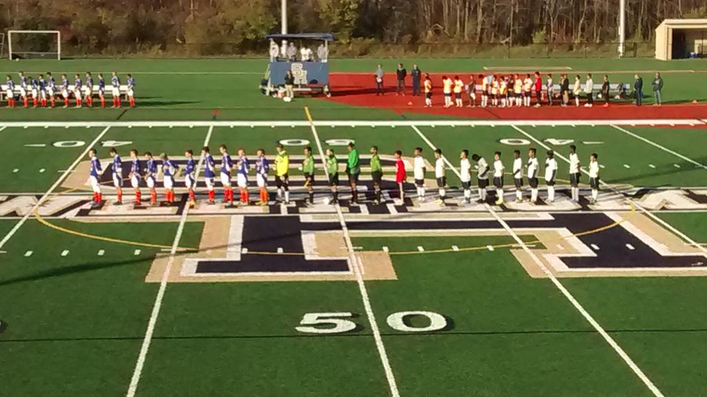 Livonia and I-Prep are ready for the second game of Saturday's triple-header at Sweet Home.