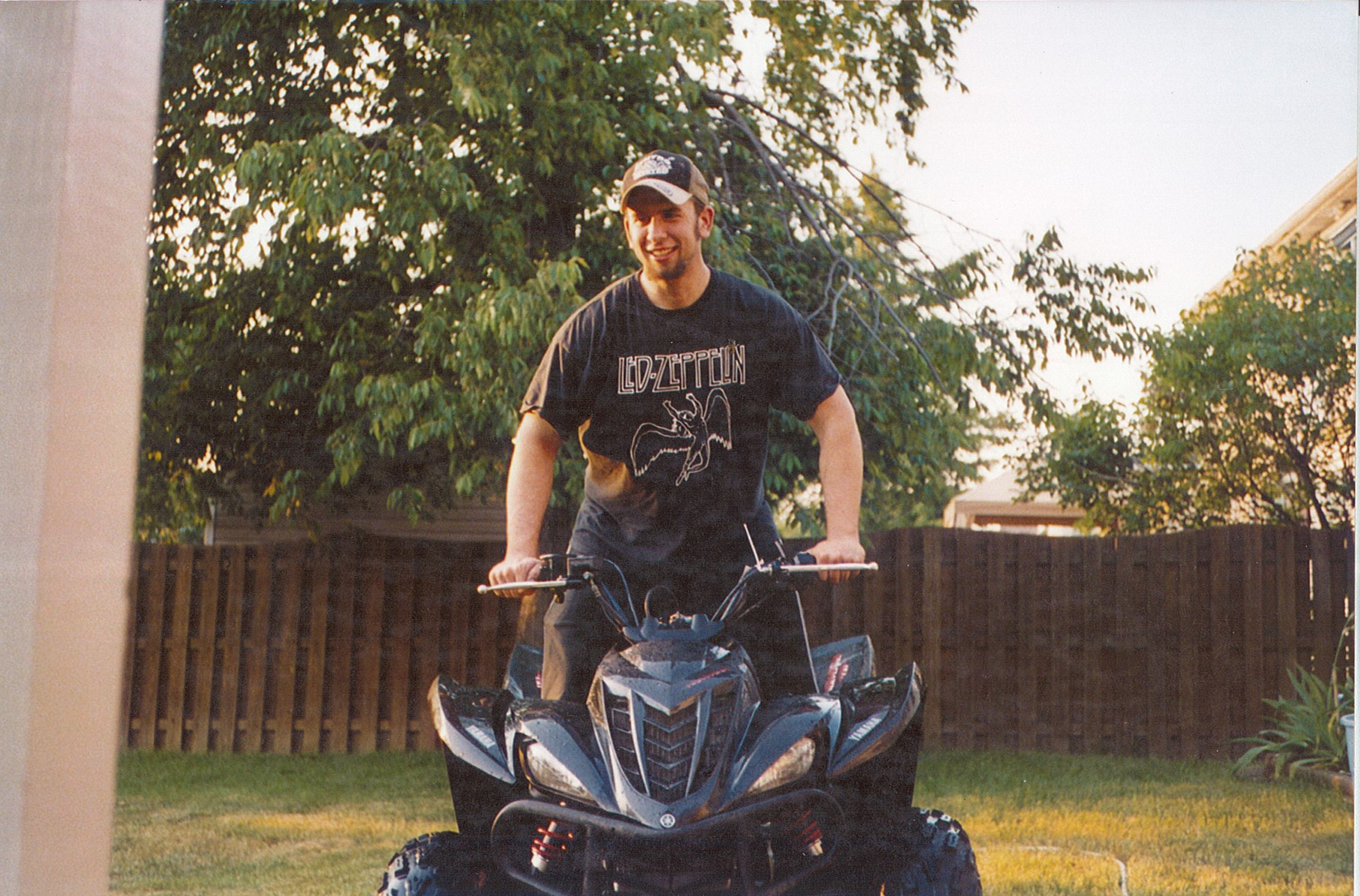 Matthew Orlowski, who died five years ago at age 26, loved to ride ATVs.