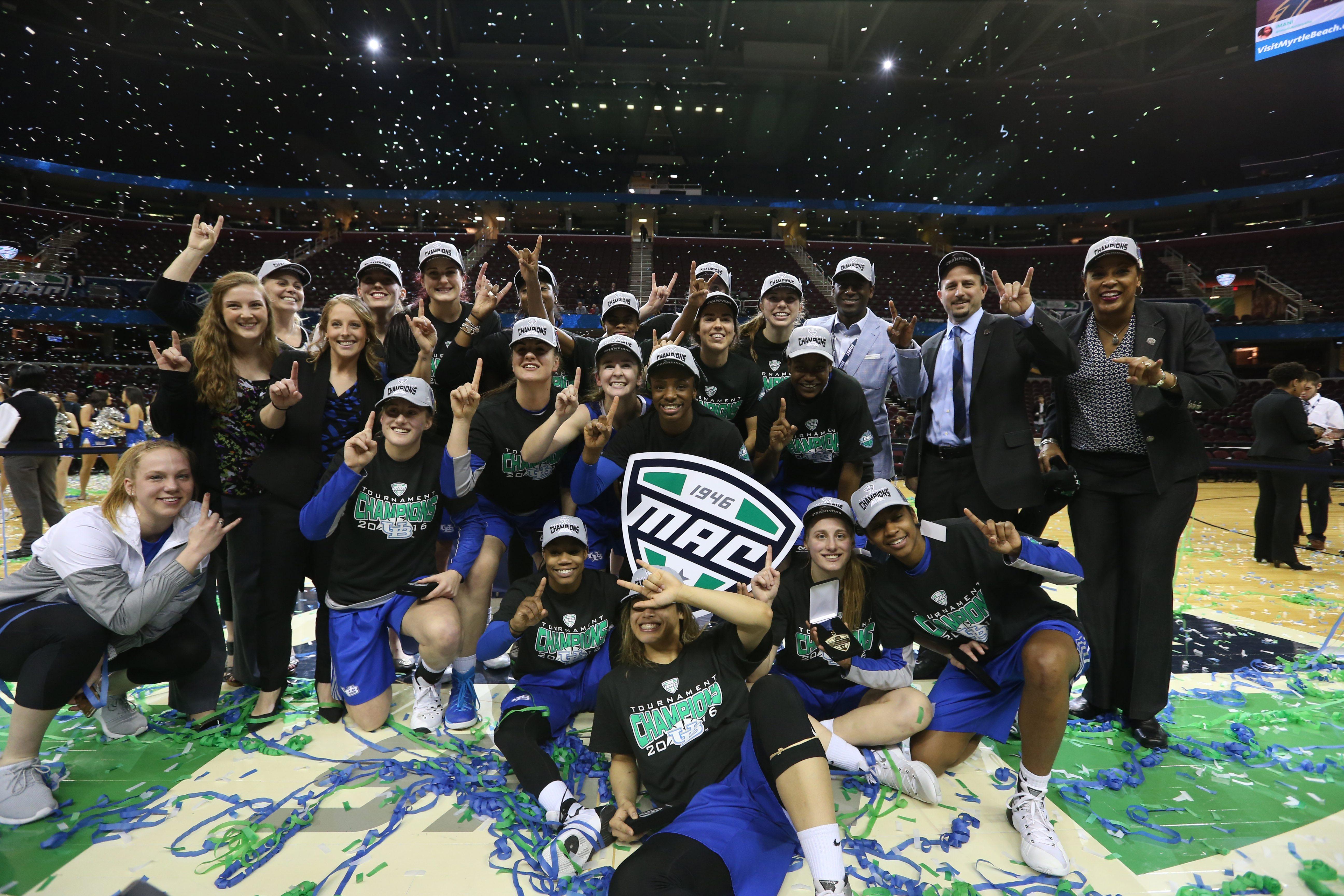 UB returns the majority of its cast from last year's MAC championship team. (James P. McCoy/Buffalo News)