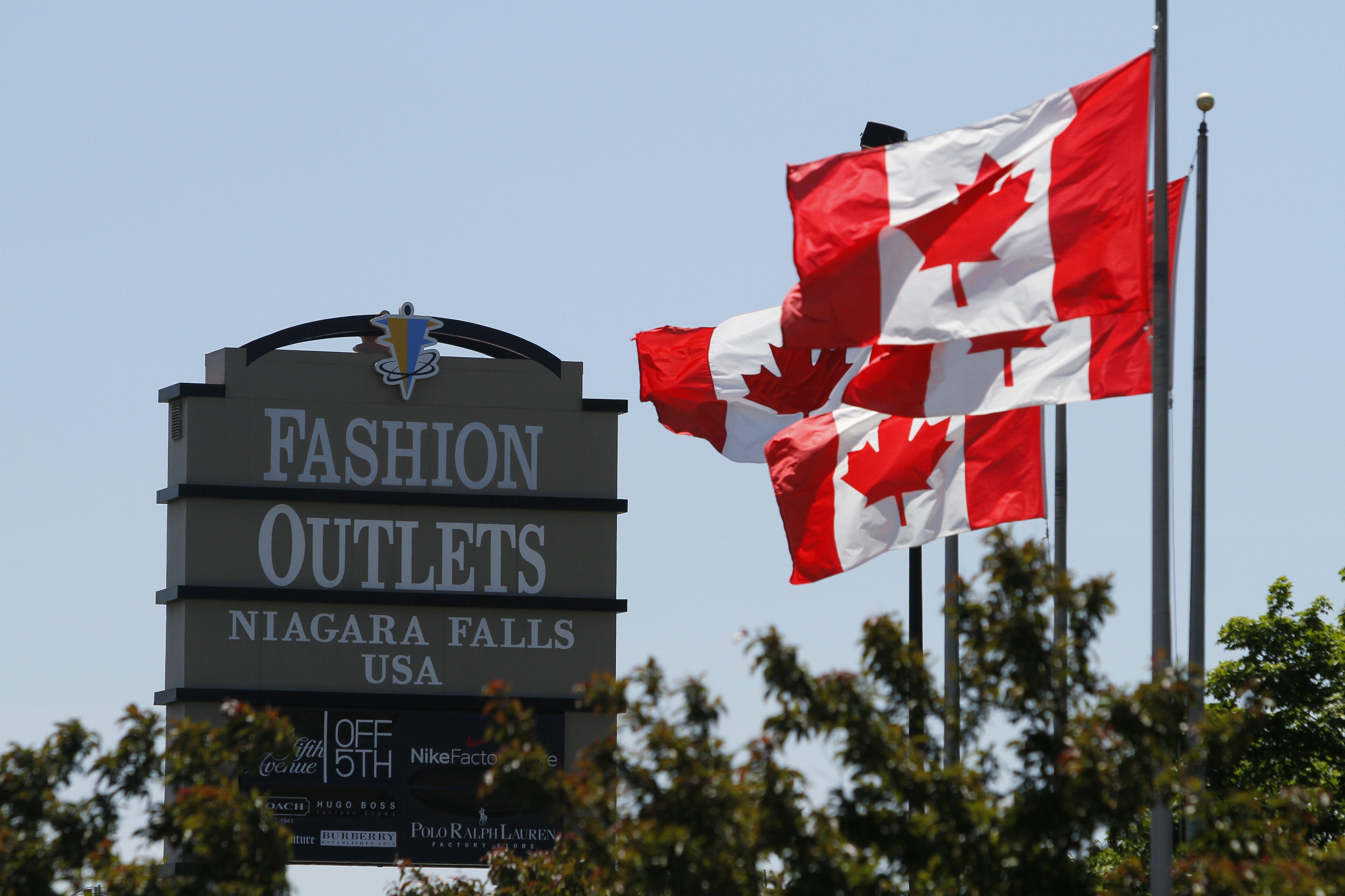 The Niagara Factory Outlet Mall in Niagara Falls. (Mark Mulville/Buffalo News file photo)