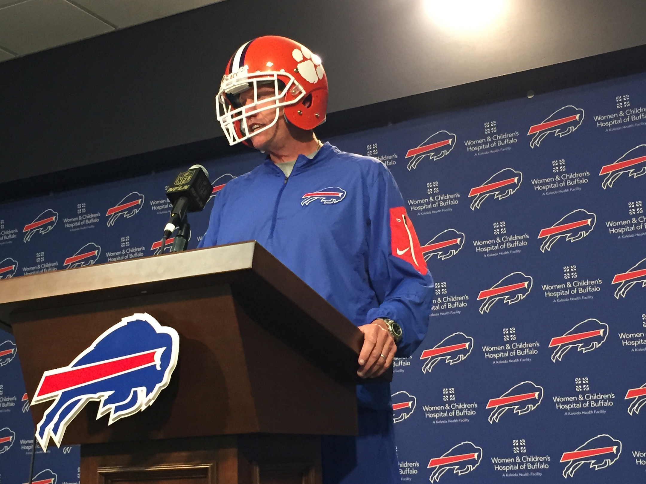 Rex Ryan is bringing his big personality to television, according to the New York Daily News. (News file photo)