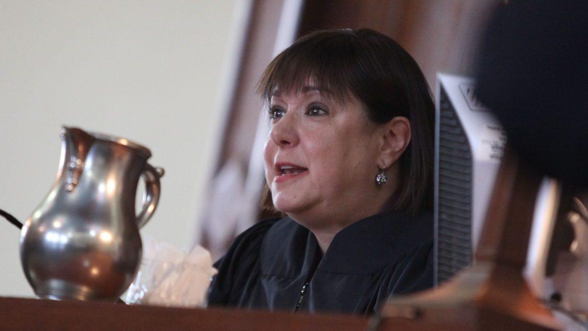Niagara County Judge Sara Sheldon won't be allowed to hear criminal cases in 2017. (Buffalo News file photo)