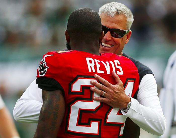 Rex Ryan and Darrelle Revis have history together (Getty Images)