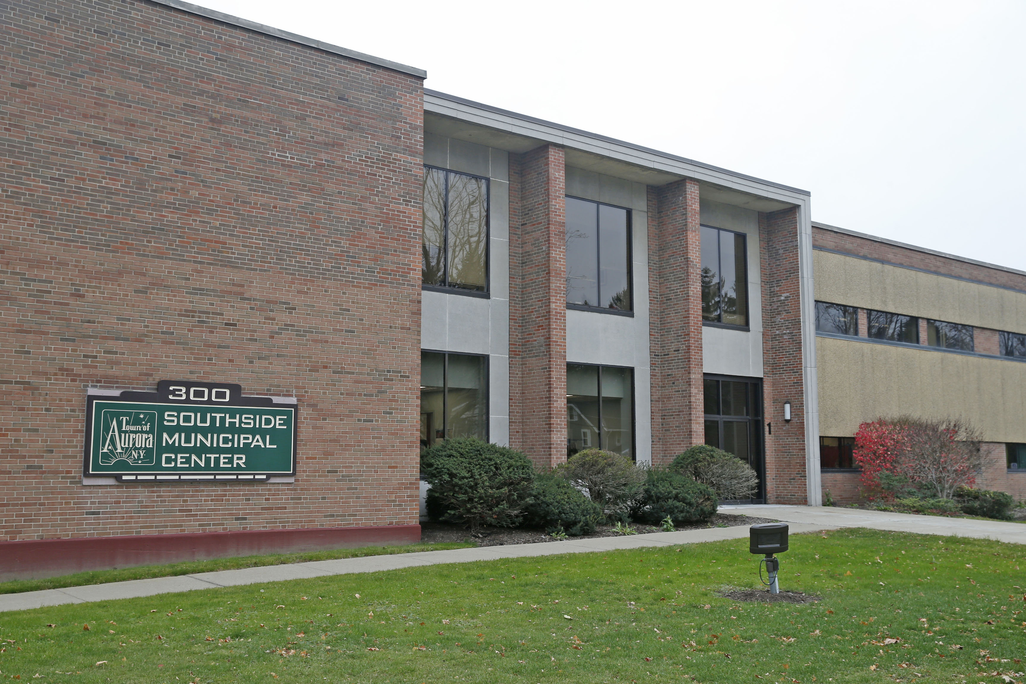 The town of Aurora just sold for $2.86 million the  Southside Municipal Center on Gleed Avenue, East Aurora, that houses the town offices. (Robert Kirkham/Buffalo News)
