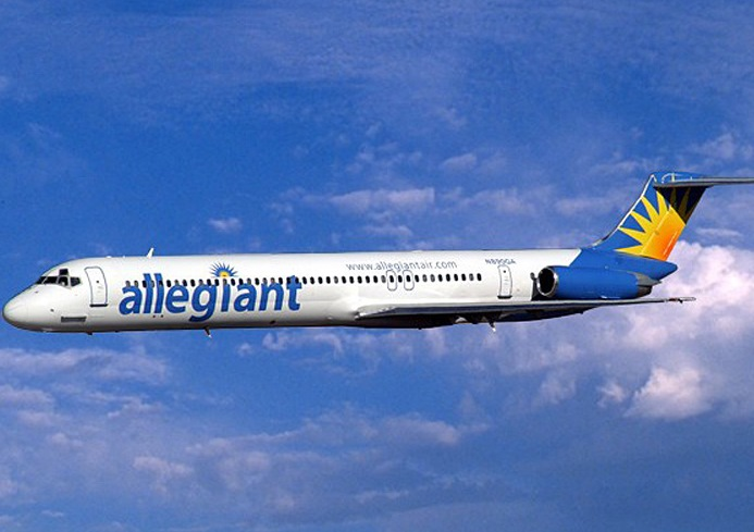 Allegiant Air is expanding its service at the Niagara Falls International Airport. (Provided photo)