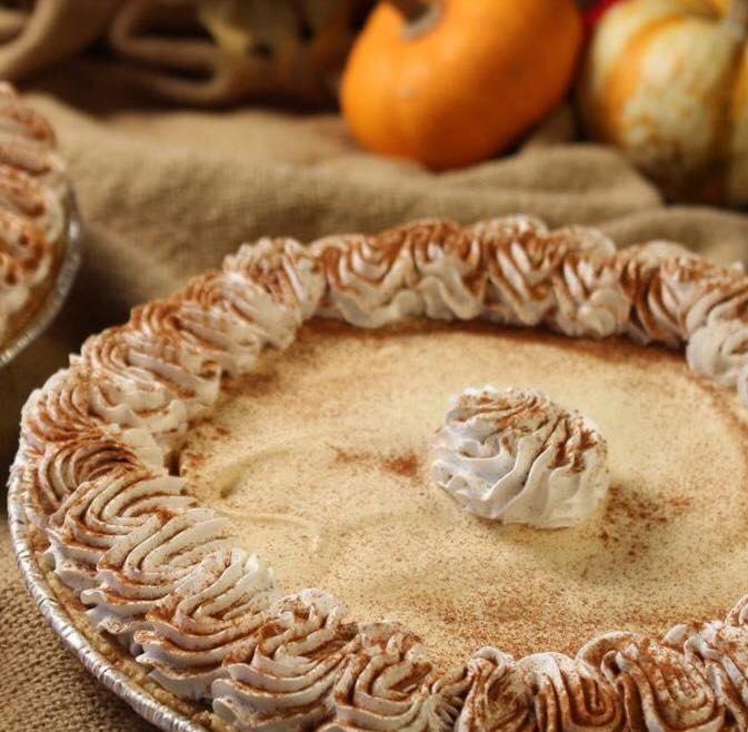 Anderson's is recalling its Pumpkin Ice Cream Pies due to 'undeclared peanuts.' (Photo courtesy of Anderson's Frozen Custard)