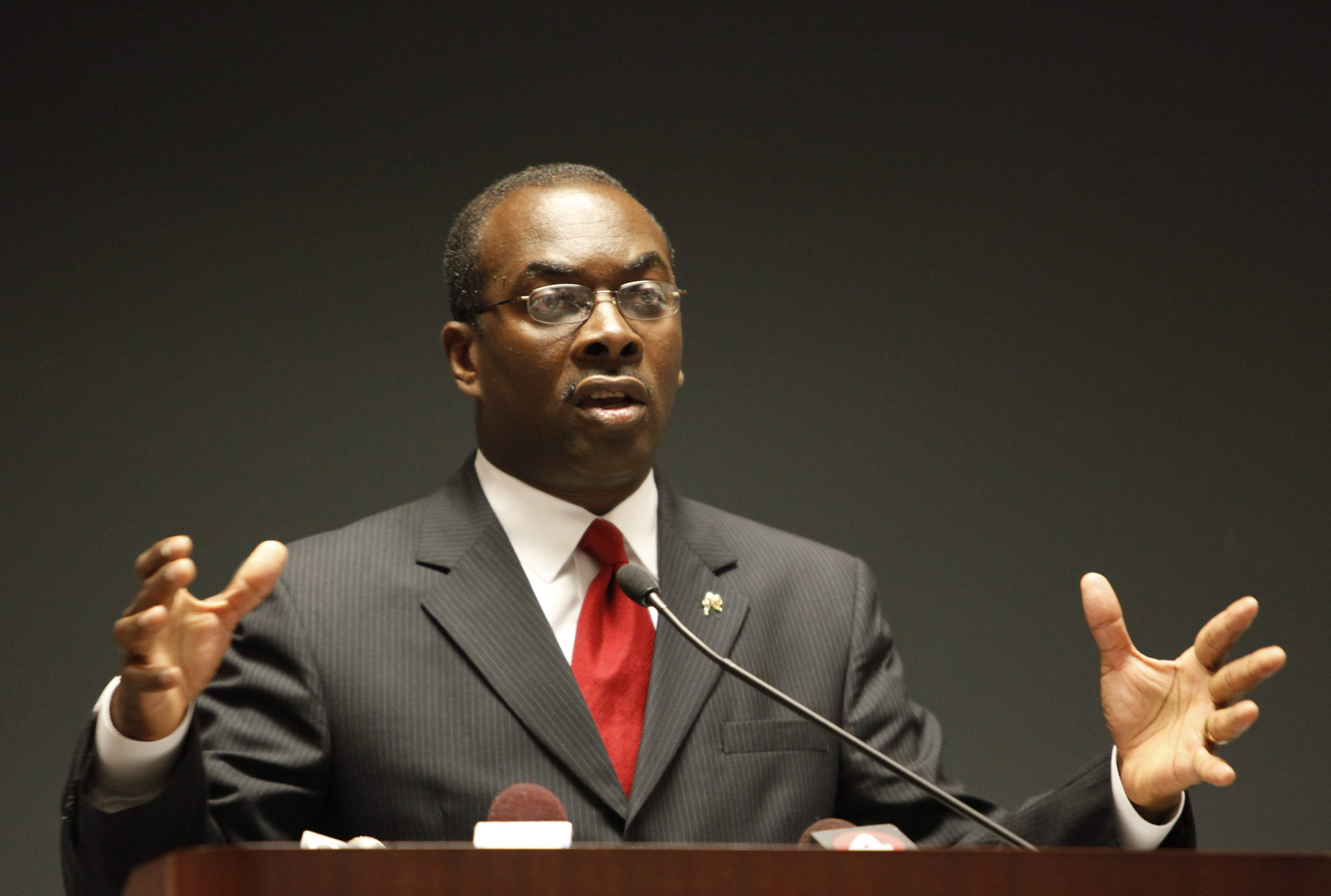 Byron Brown has  been invited to the White House. (Derek Gee/Buffalo News file photo)