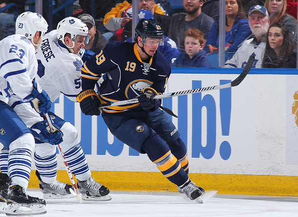 Cal O'Reilly earned his first recall of the season with the Sabres. (Getty Images)