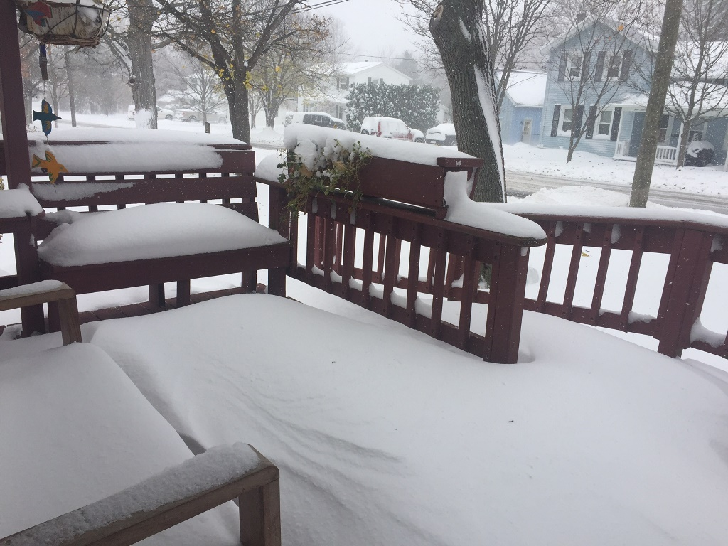 Buffalo wakes up to wind chills in teens as snow moves east