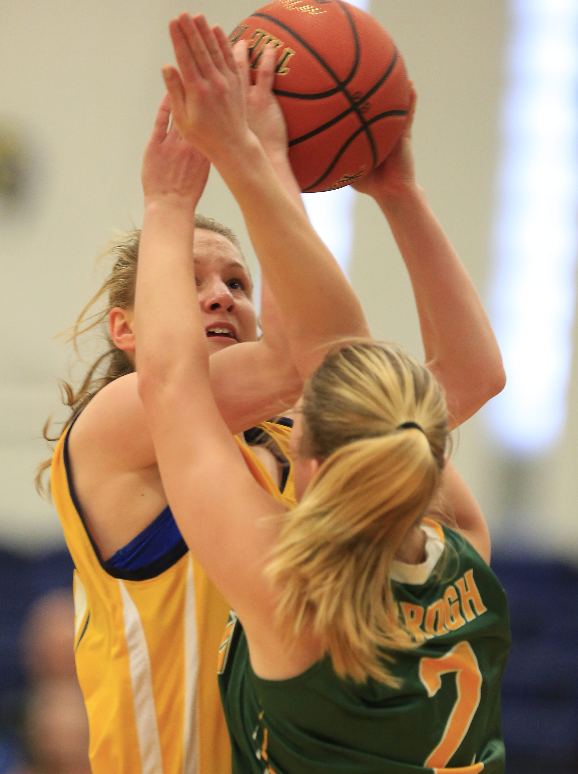 Emily Weber returns for Canisius after missing last season with a knee injury. (Harry Scull Jr./Buffalo News)