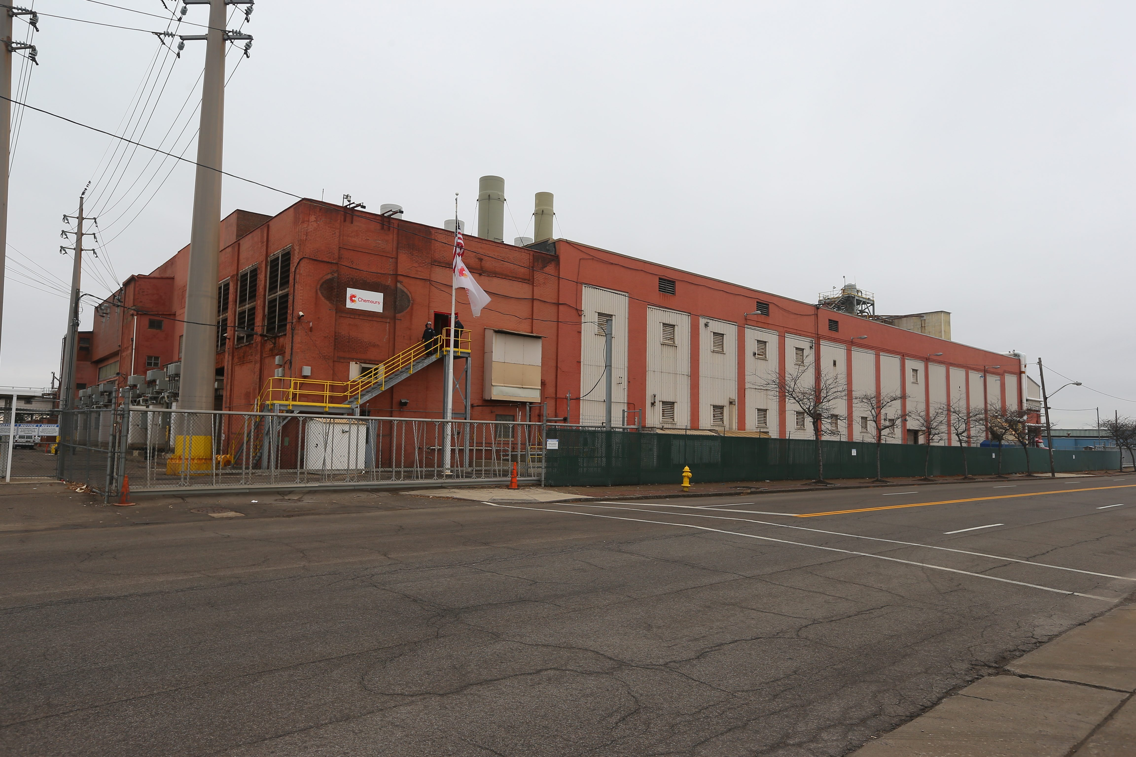 Production at the Chemours plant in Niagara Falls ended in September. (John Hickey/Buffalo News)