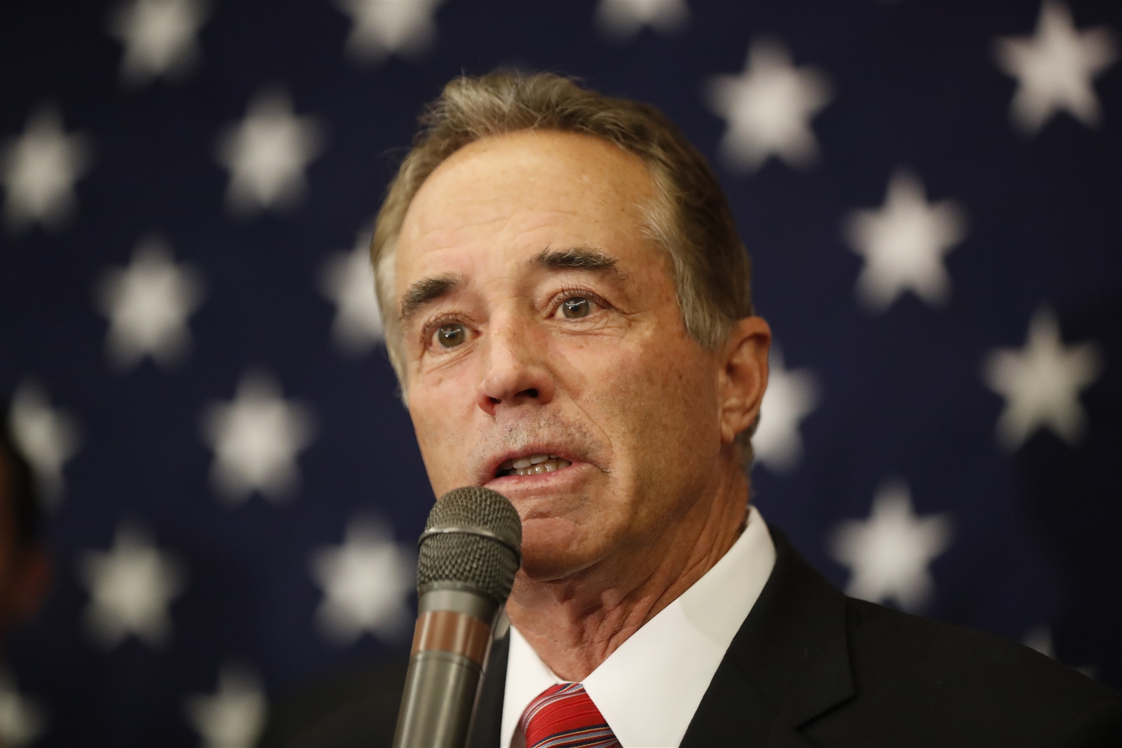 Rep. Chris Collins said Trump's tax proposal would be a 'very heavy lift' to get through Congress. (Harry Scull Jr./Buffalo News)