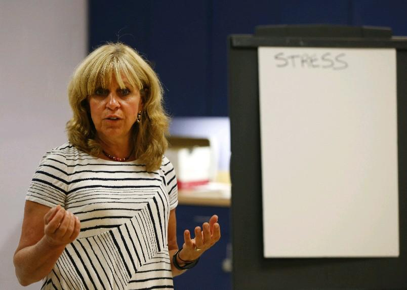 Mary Ann Drake leads diabetes education classes at the Southtowns YMCA. The Buffalo Niagara Y will start new classes in January. (Mark Mulville/Buffalo News file photo)