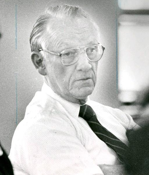 Former Buffalo Police Commissioner Ralph V.  Degenhart