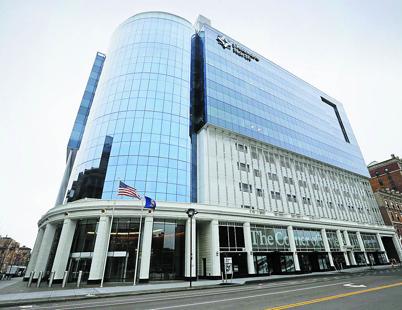 Delaware North's headquarters at 250 Delaware Ave. (Derek Gee/Buffalo News file photo)