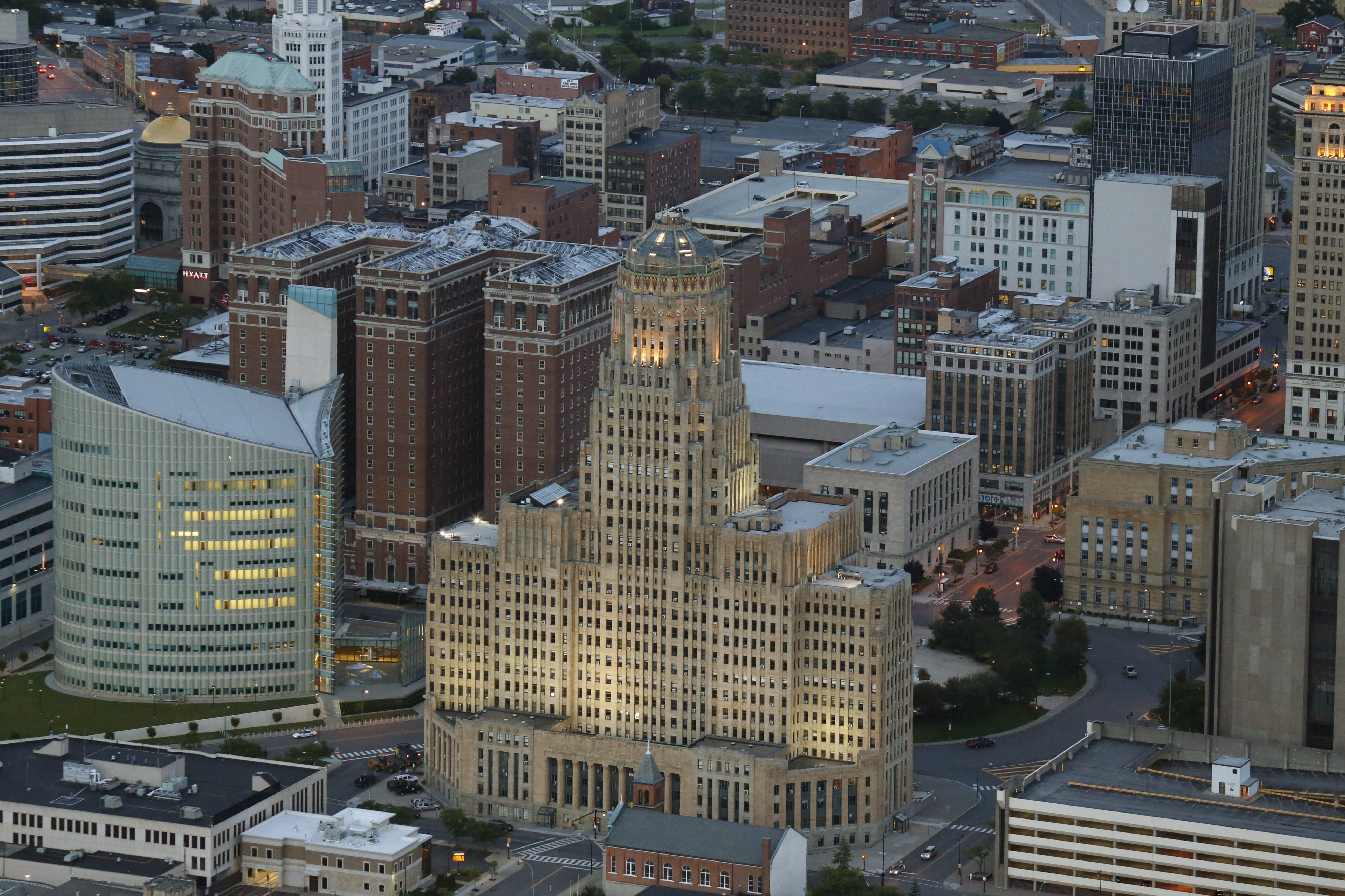 The City of Buffalo is among the sponsors for the second annual The Pitch business plan competition. (Derek Gee/Buffalo News file photo)