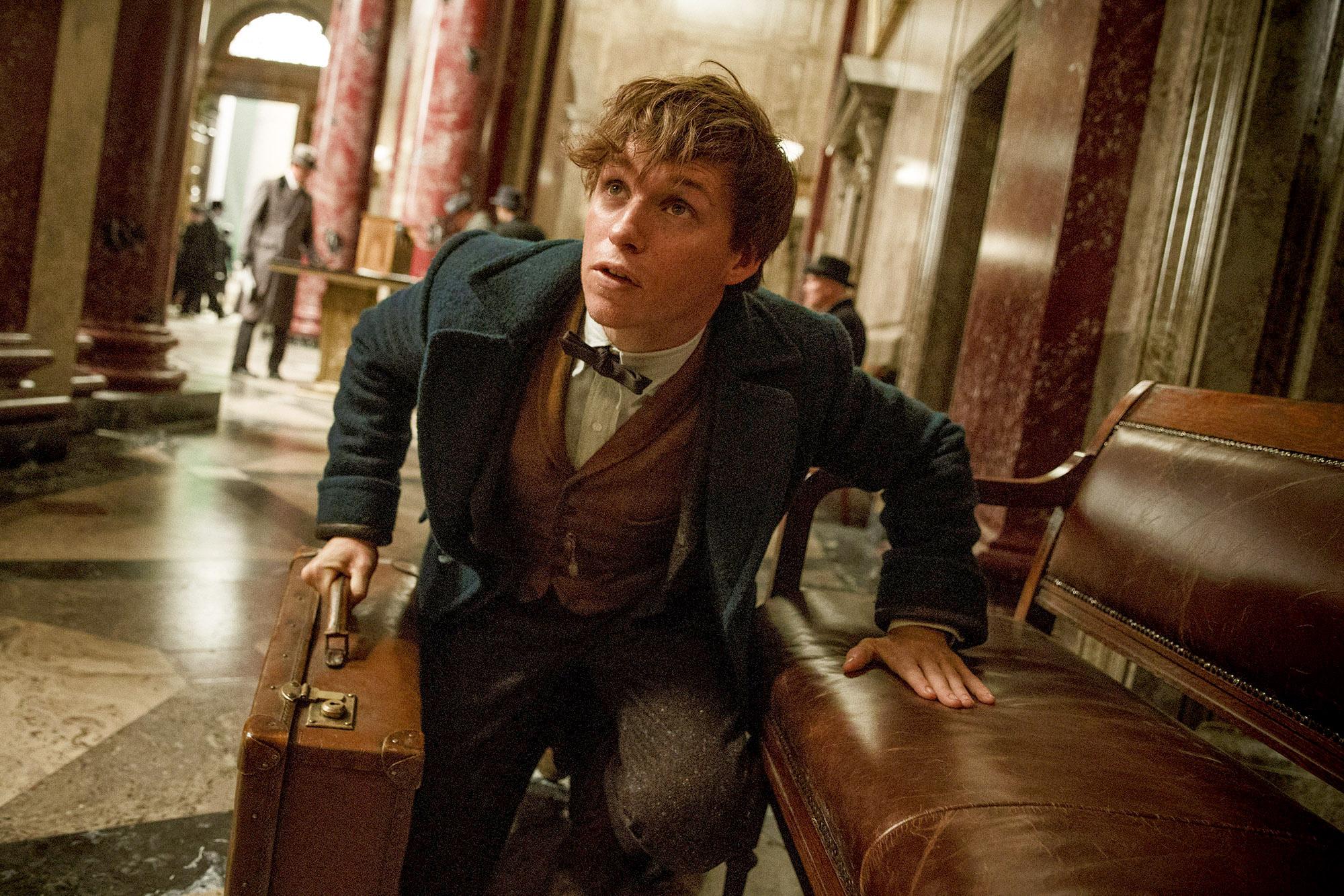 Eddie Redmayne in 'Fantastic Beasts and Where to Find Them.' (Jaap Buitendijk, Warner Bros. Pictures)