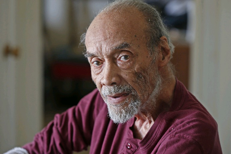 World War II vet George Watts says he was treated like a second-class citizen in the Army. (Robert Kirkham/Buffalo News)