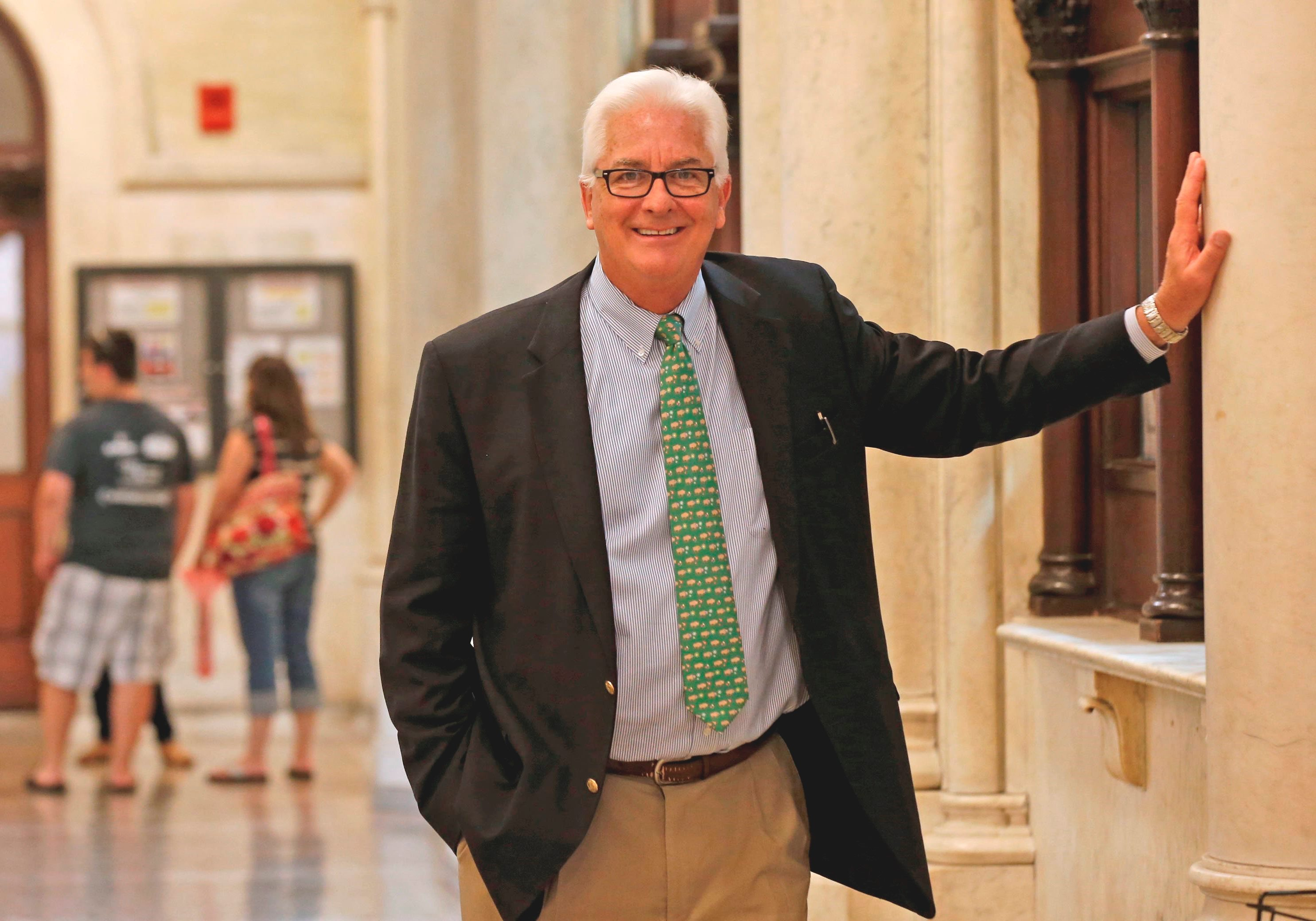 ECC president Jack Quinn said he was happy with the work that the public relations firm did, and he was not surprised by the cost.  (Robert Kirkham/News file photo)
