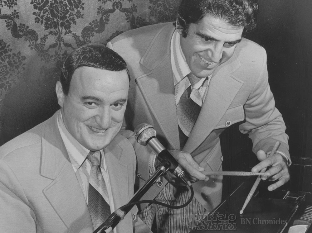 Jackie Jocko and Joe Peters, 1972. Buffalo News archives