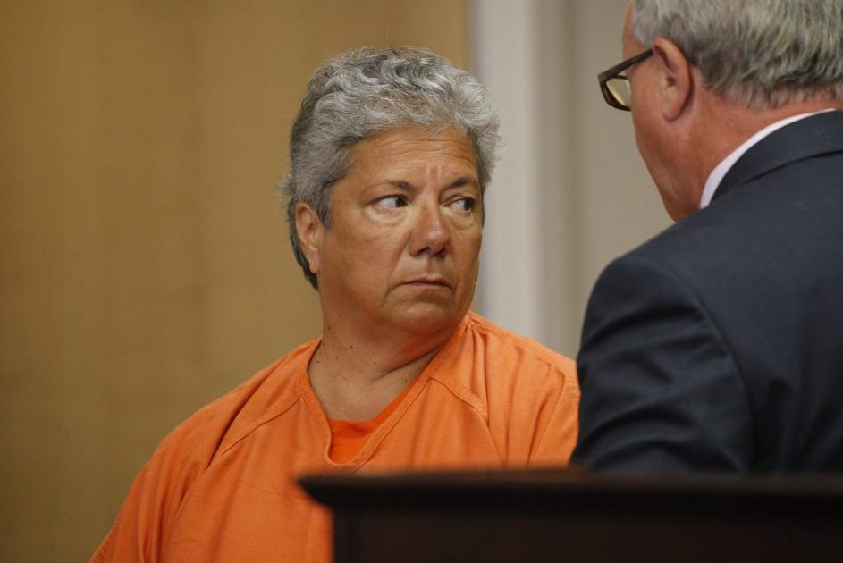 Lynn Laettner is arraigned on perjury charges on June 21, 2016. (Derek Gee/News file photo)