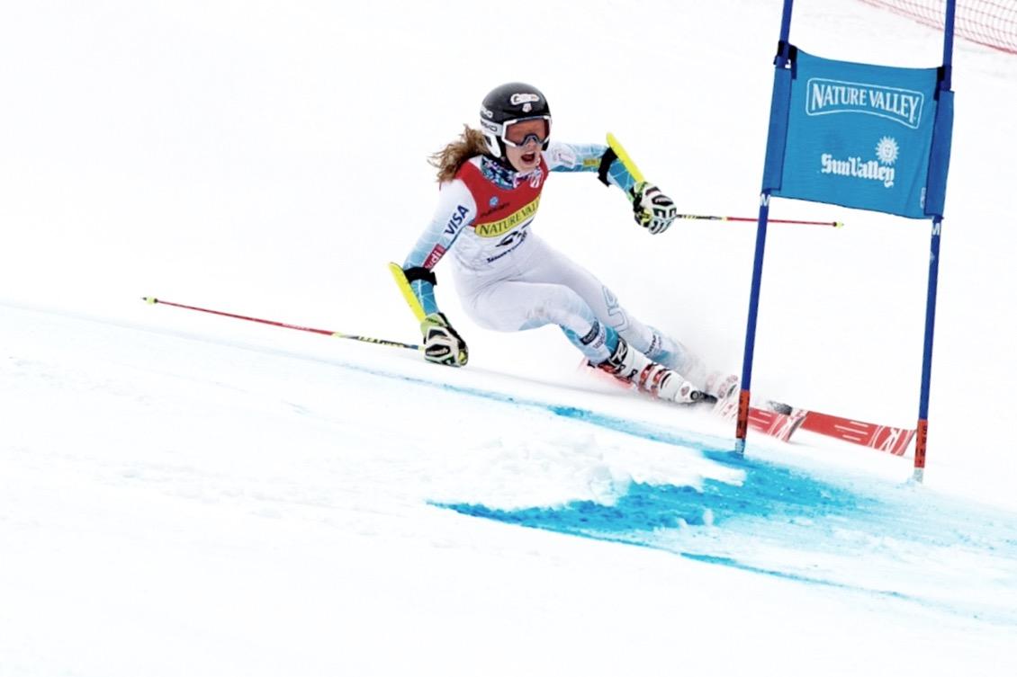 Derby native Tricia Mangan  will tackle the giant slalom in Killington, Vt., on Saturday. (U.S. Ski Team)