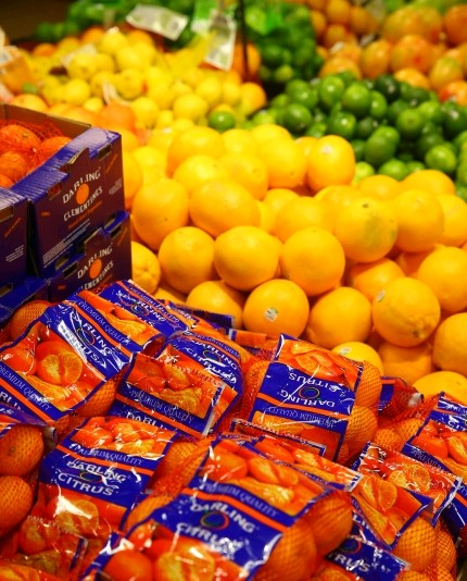 Citrus is a better choice than sugary foods.