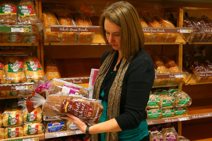 Nicole Klem, director of the Trocaire College Nutrition and Dietetics Program in Lancaster, says shopping and choices count during the holidays. (Photos by John Hickey/Buffalo News)