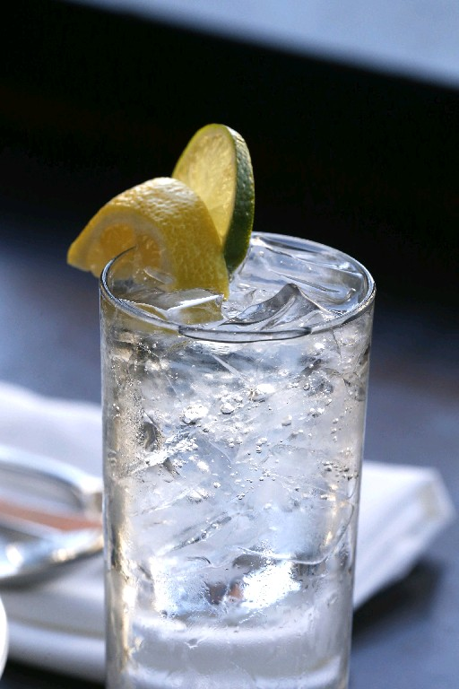 Drink, and serve, water at parties, even if you choose to have a moderate amount of alcohol, Mallary Whipple says.