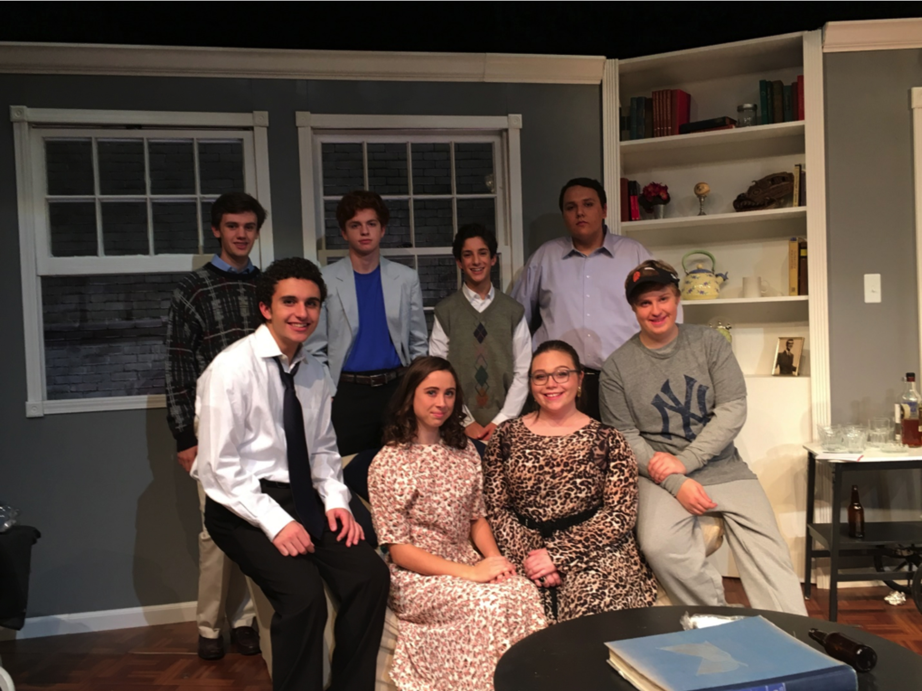 Back row: From left, Nick Harwas, Dan Wilde, Christo Siderakis, Aneris Rivera-Wagner Front row: From left, Raffi Wright, Sophia Sorrentino, Maddy Bedenko, Justin McMullen
