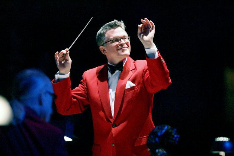 """John Morris Russell, the Buffalo Philharmonic Orchestra's Principal Pops conductor, has earned the title of """"Mr. Christmas."""""""