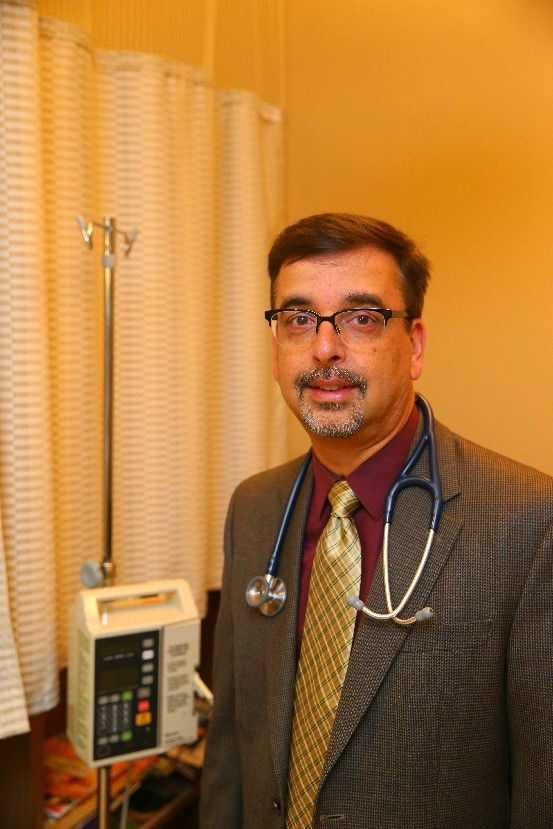 Dr. Raman Sood at CCS Oncology. (John Hickey/Buffalo News)