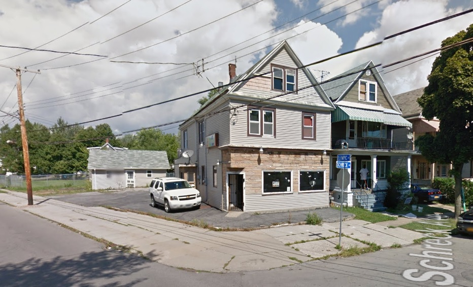 Sweets Lounge at Olympic and Schreck avenues, has been shut down by the city. (Google Streetview)