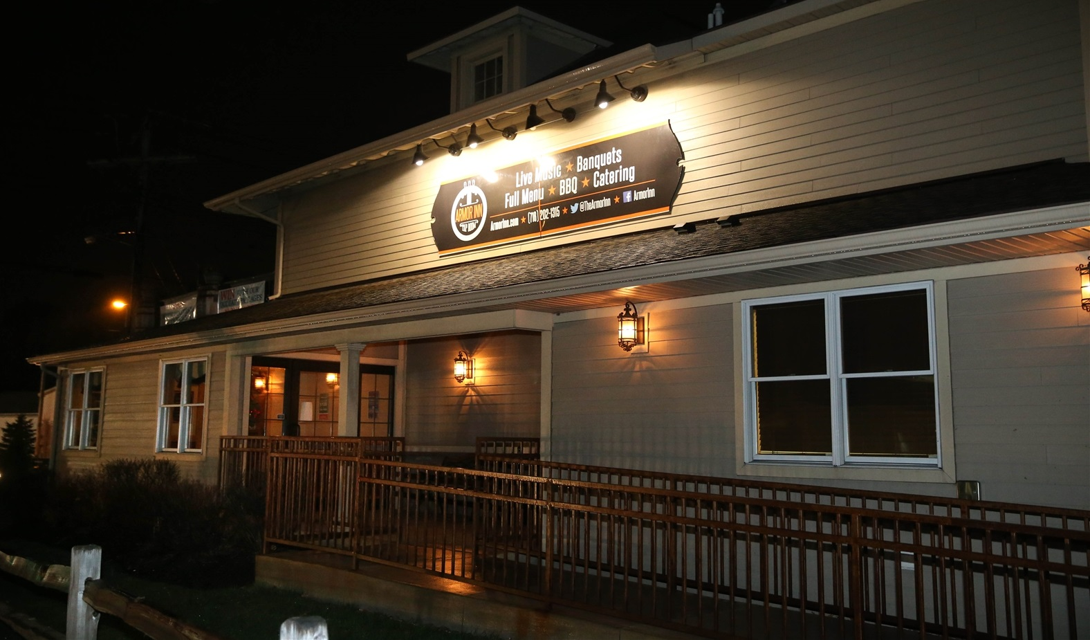 The outside of Armor Inn Tap Room, 5381 Abbott Road in Hamburg. (Sharon Cantillon/Buffalo News file photo)