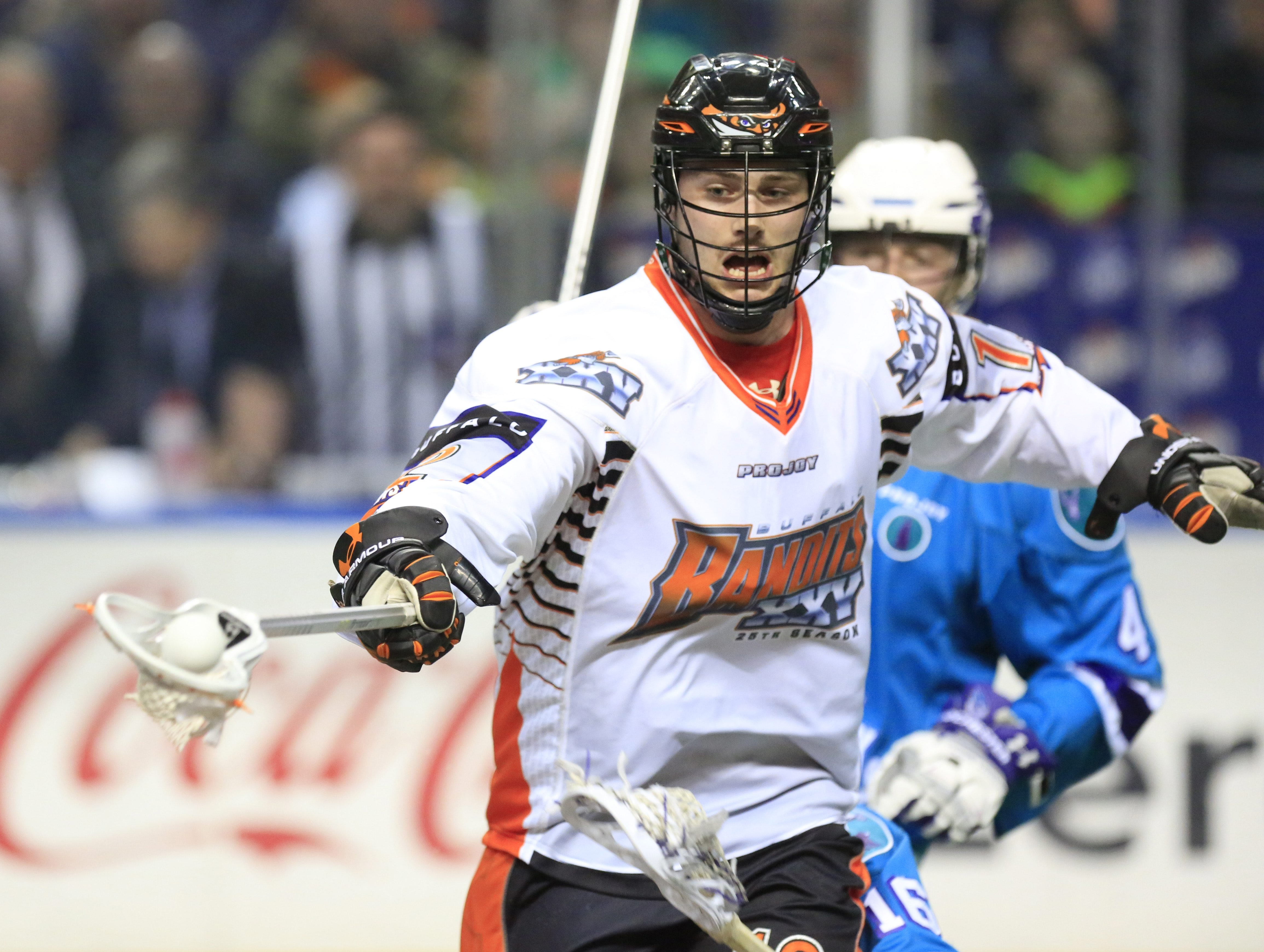 Mitch de Snoo is among many familiar faces back for the Bandits. (Harry Scull Jr./Buffalo News)