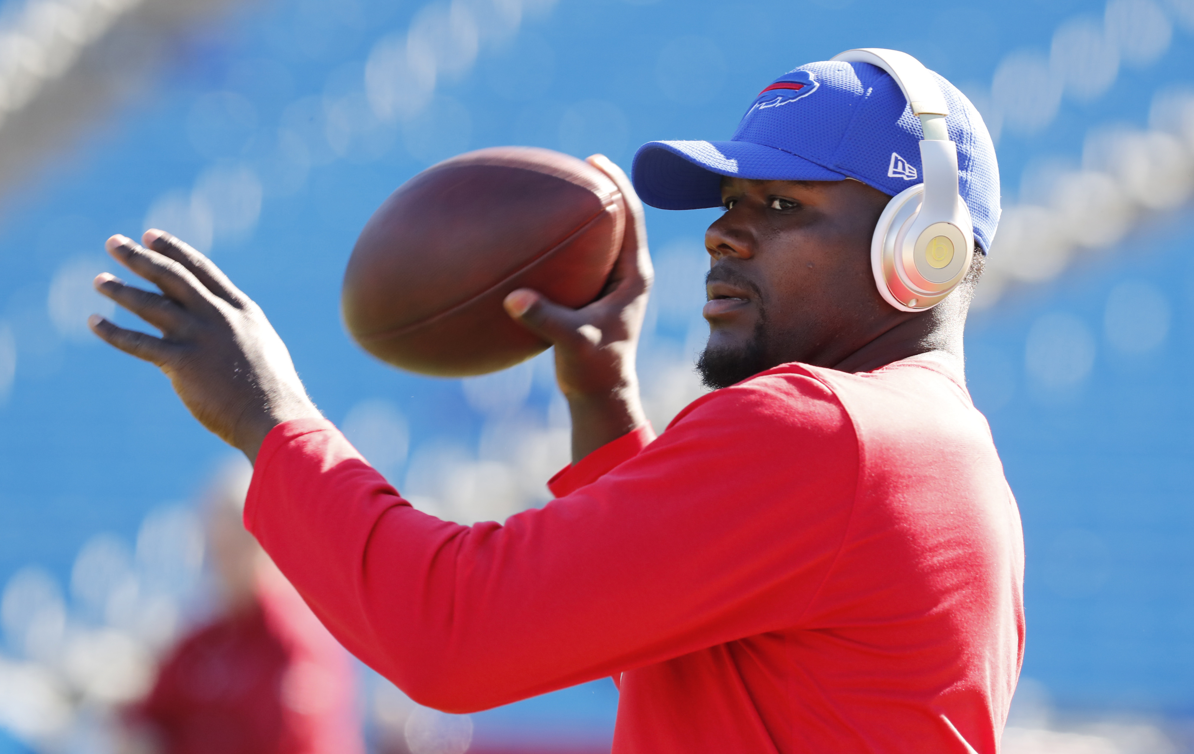 Former Bills quarterback Cardale Jones now gets to show his potential with the Chargers. (Harry Scull Jr./Buffalo News)