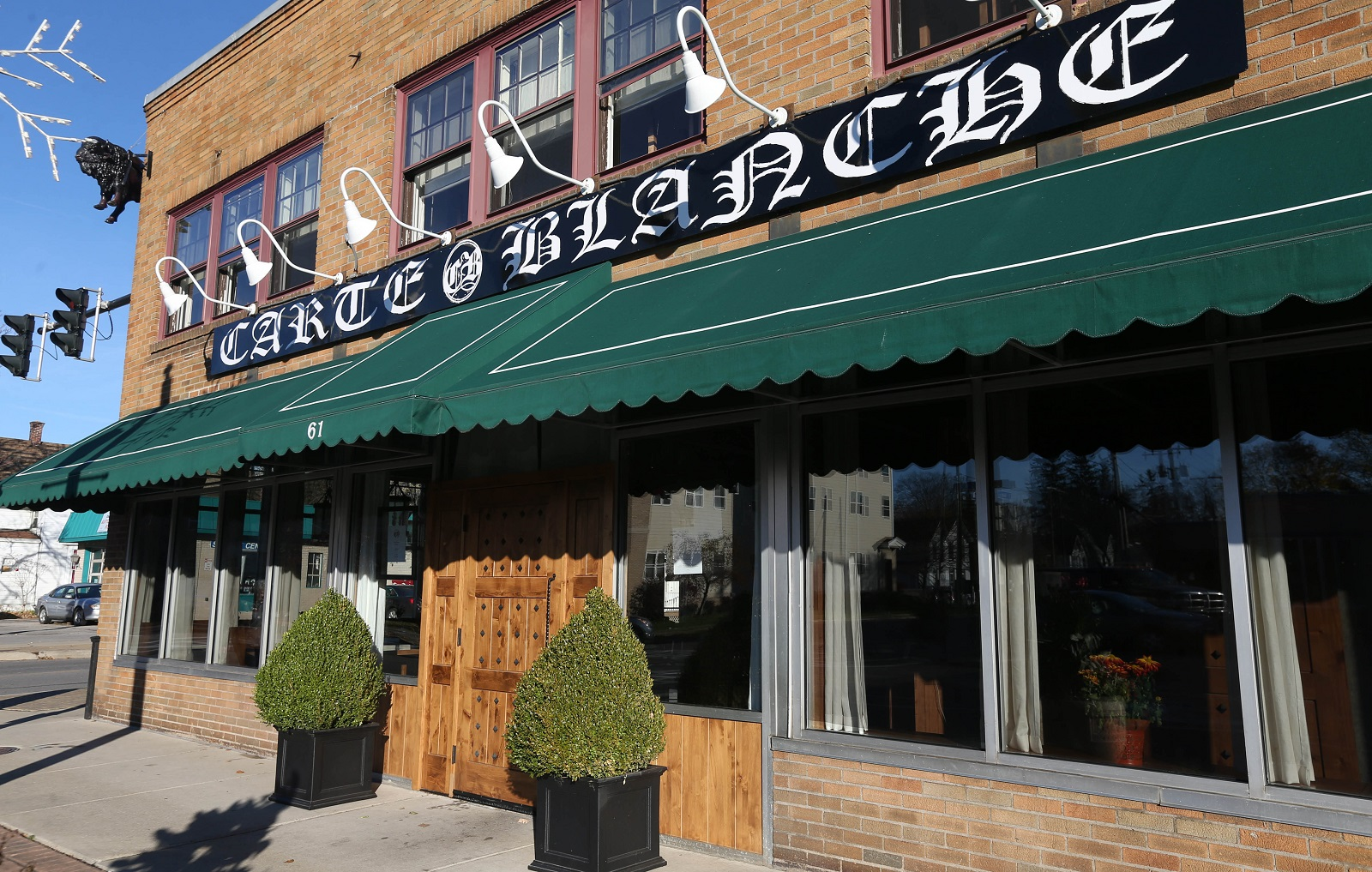 Carte Blanche is at 61 Buffalo St. in Hamburg.  (Sharon Cantillon/Buffalo News)