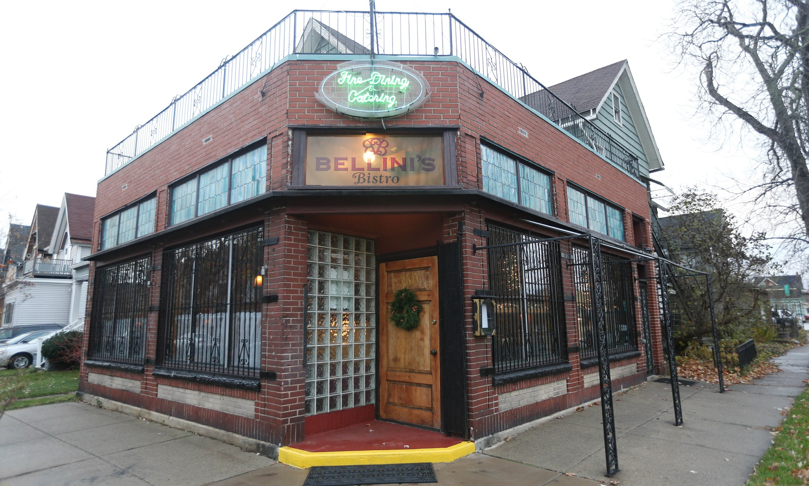 Bellini's Bistro is at 350 Pennsylvania St., across the street from Kleinhans Music Hall. (Sharon Cantillon/Buffalo News)