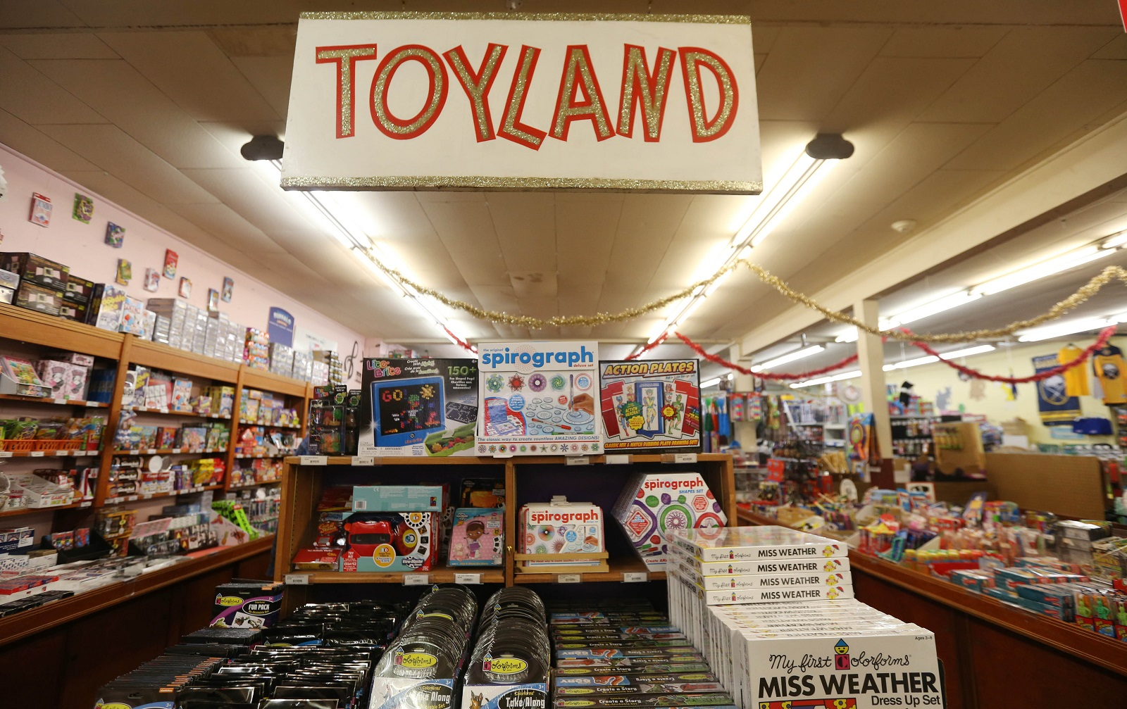Vidler's specializes in traditional toys that children have always liked. (Sharon Cantillon/Buffalo News)