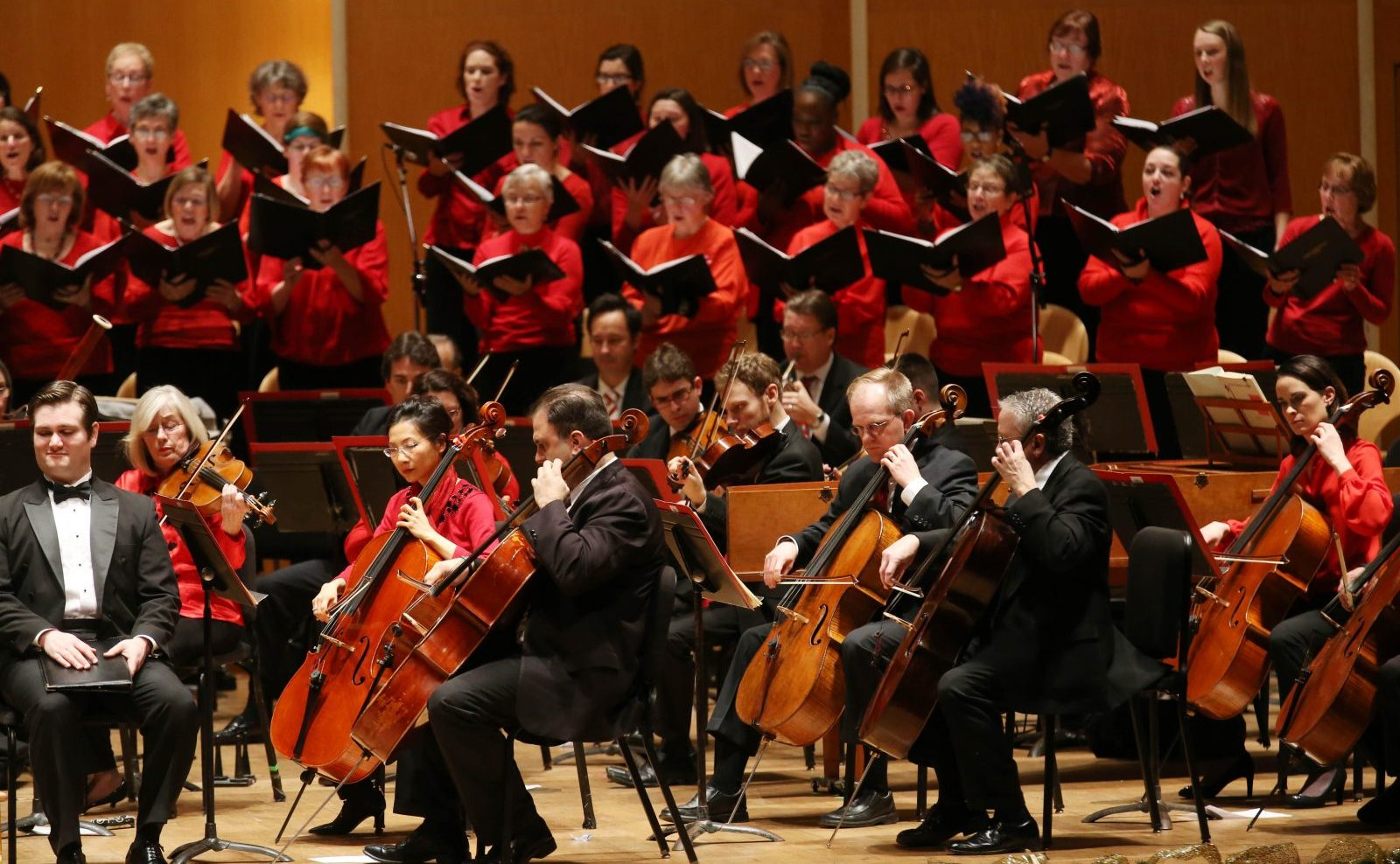 The Buffalo Philharmonic Chorus performing with the BPO. (Sharon Cantillon/Buffalo News file photo)