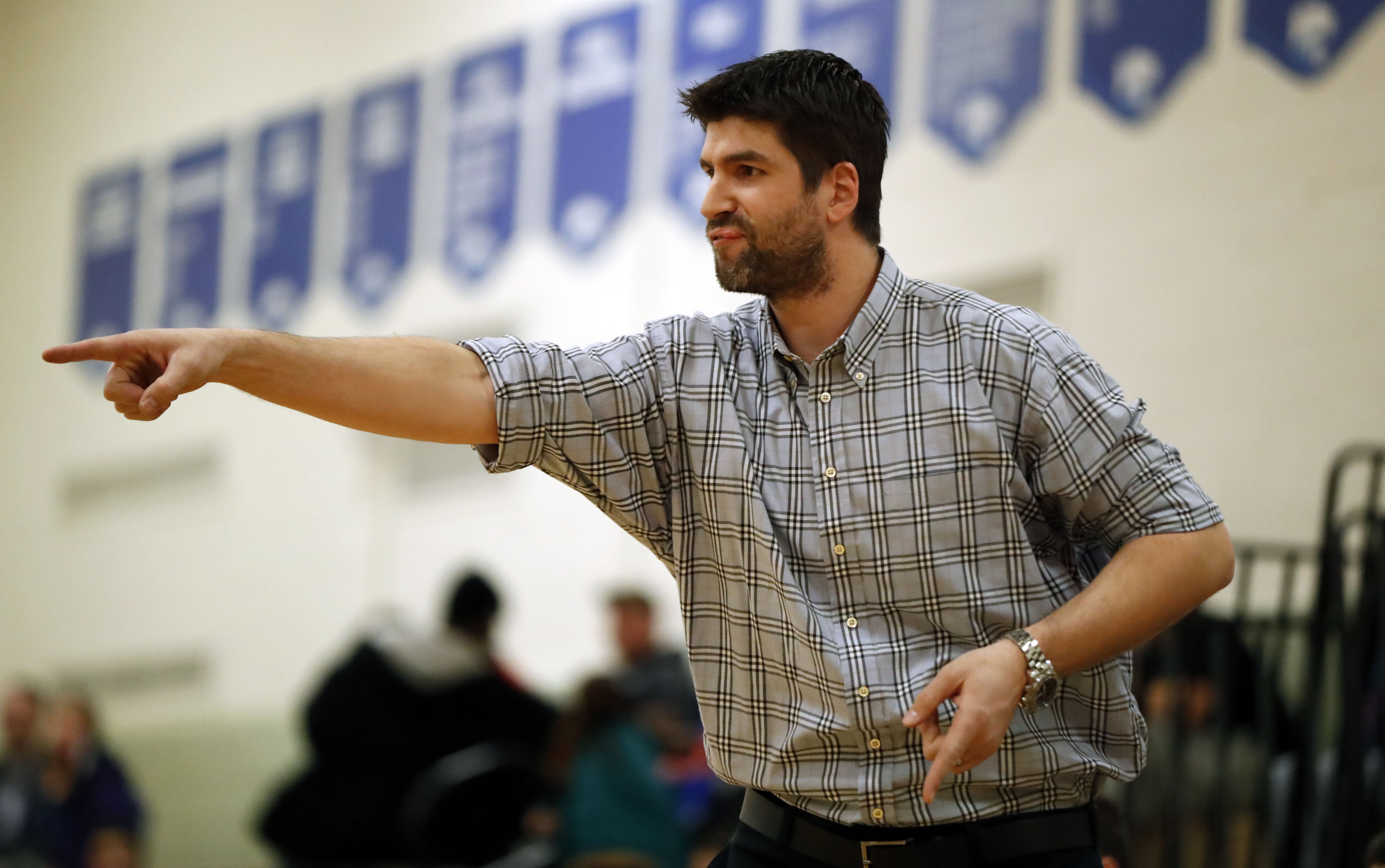 Coaching at Nichols provides Darren Fenn an outlet to satisfy his thirst for competition now that his professional playing career is over. (Harry Scull Jr./Buffalo News)