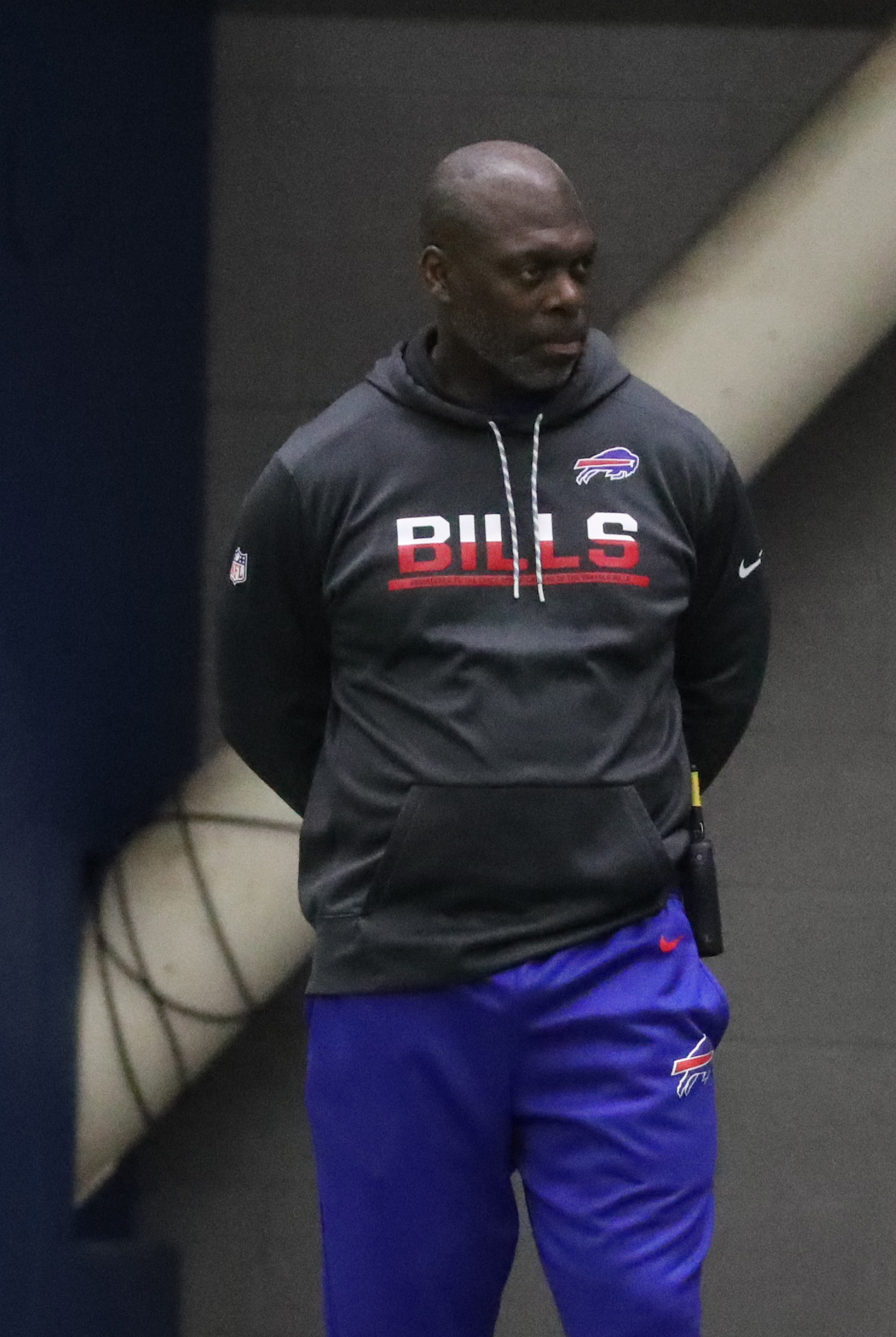 Anthony Lynn is expected to receive strong consideration for the Buffalo Bills' permanent head-coaching job. (James P. McCoy/Buffalo News)