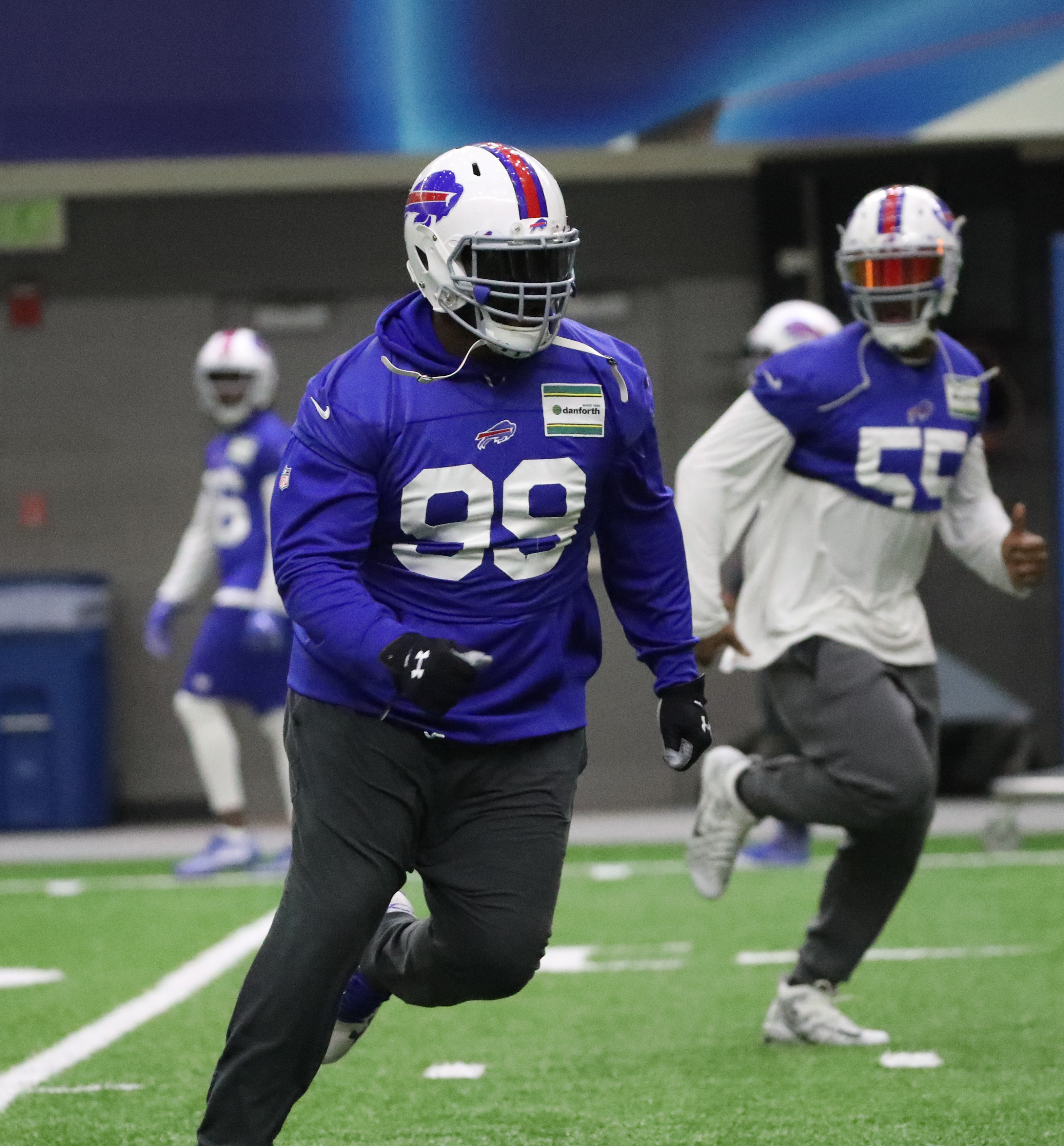 Sully says Marcell Dareus will be a factor this year. (James P. McCoy/Buffalo News)