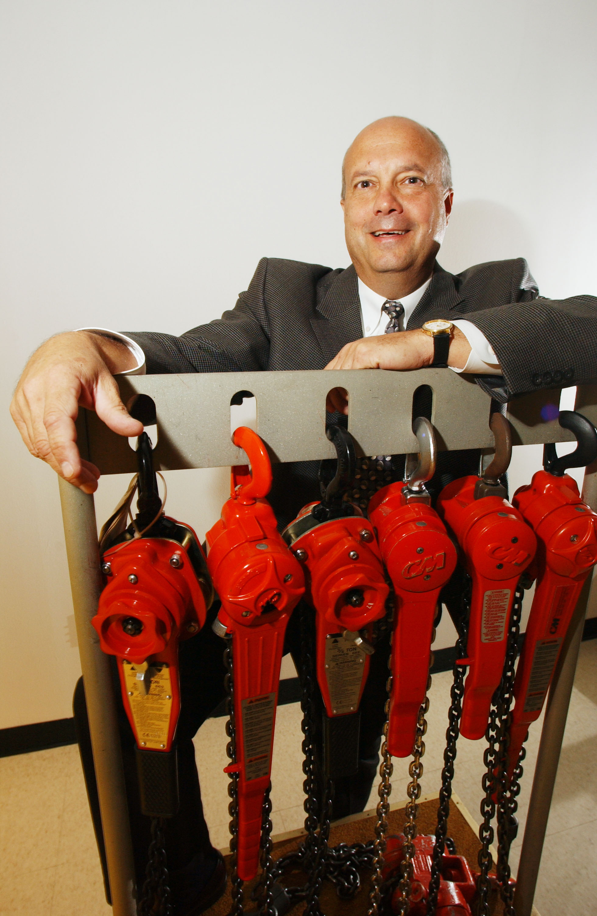 Timothy T. Tevens, president and CEO of Columbus McKinnon Corp., has been interested in buying Stahl CraneSystems for a long time. (Buffalo News file photo)