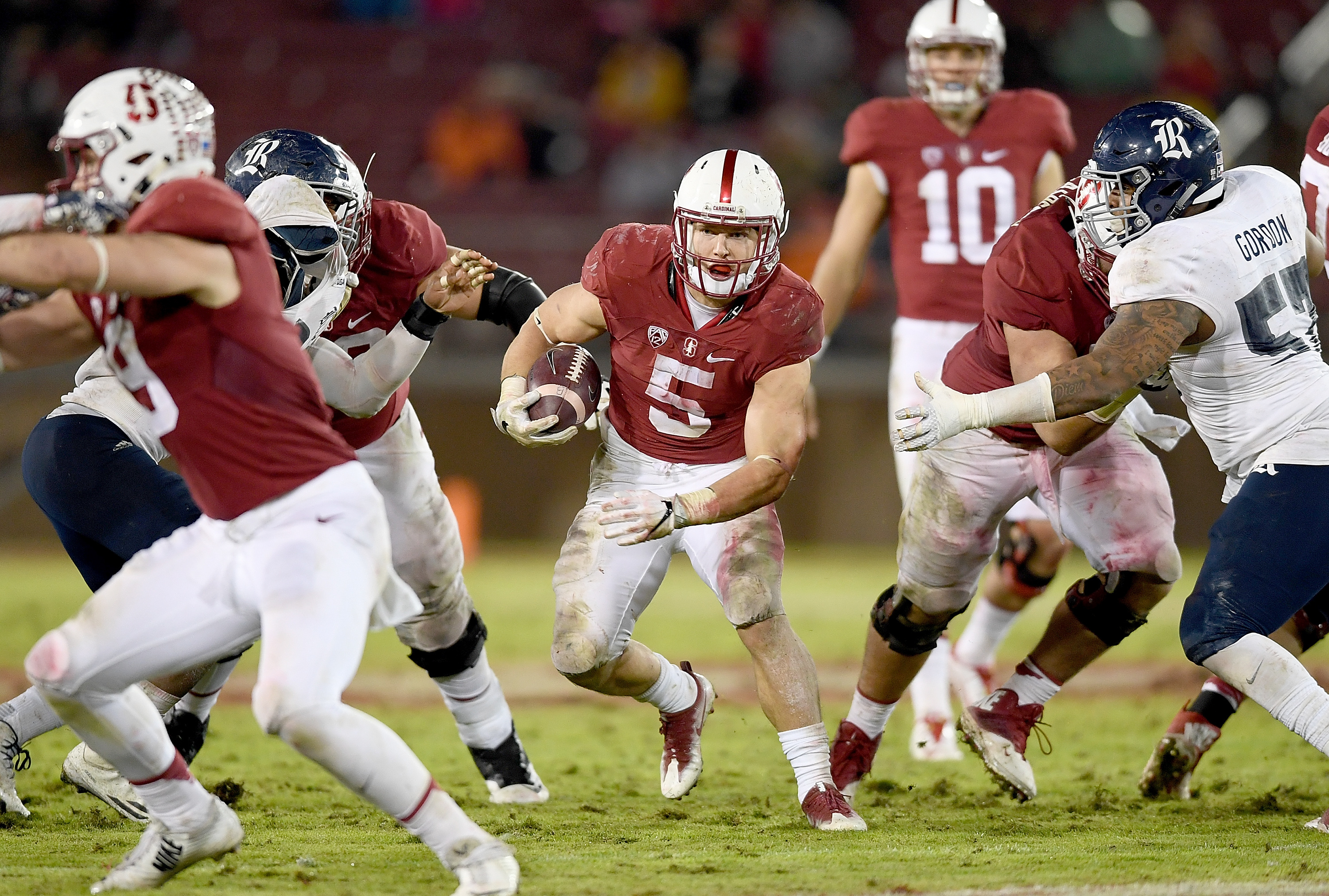 Stanford's Christian McCaffrey will not be playing in the Sun Bowl. (Getty Images)+