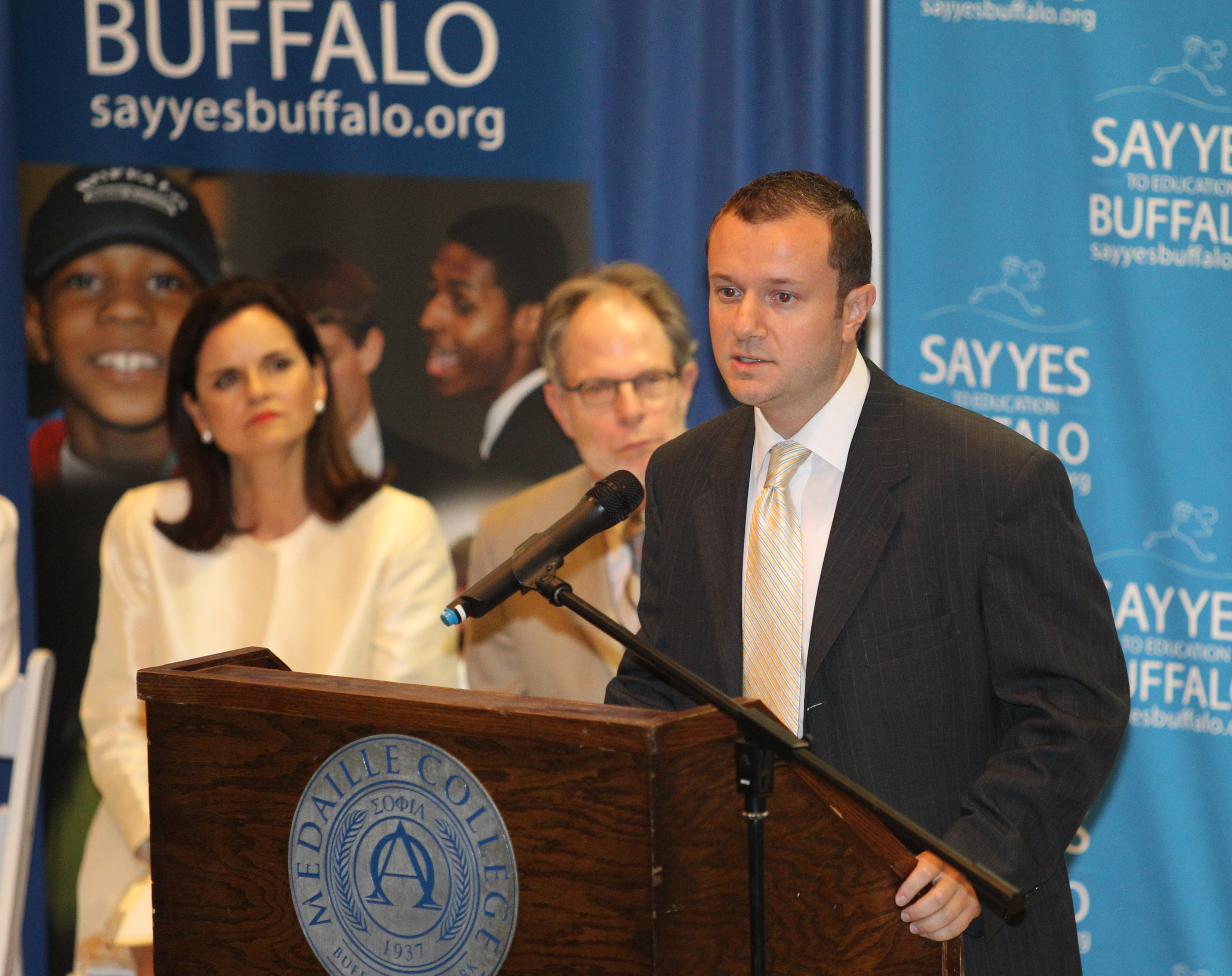 """'These are hardworking students who for a variety of reasons did not succeed in a traditional high school,"""" said Say Yes Executive Director David Rust. shown in a file photo. (News file photo)"""