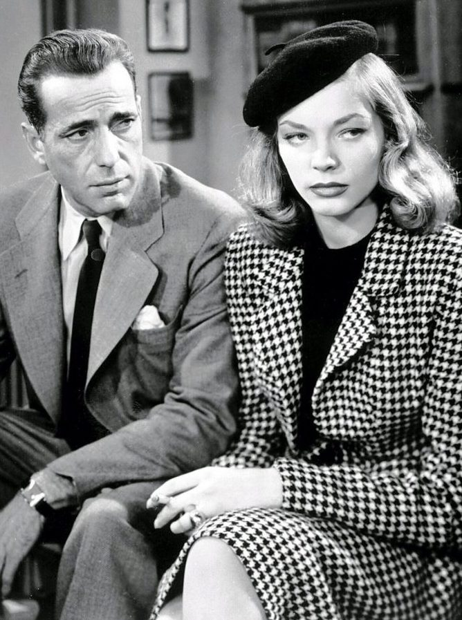 Humphrey Bogart and Lauren Bacall starred in 'The Big Sleep,' thes subject of one of Jeff Simon's summer reads for 2018. (Buffalo News file photo)