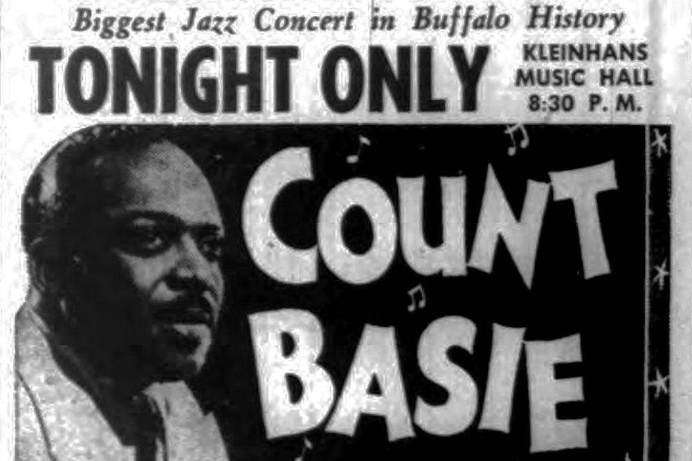 Buffalo in the '50s: Basie, Gillespie, Billie Holiday headline Kleinhans show