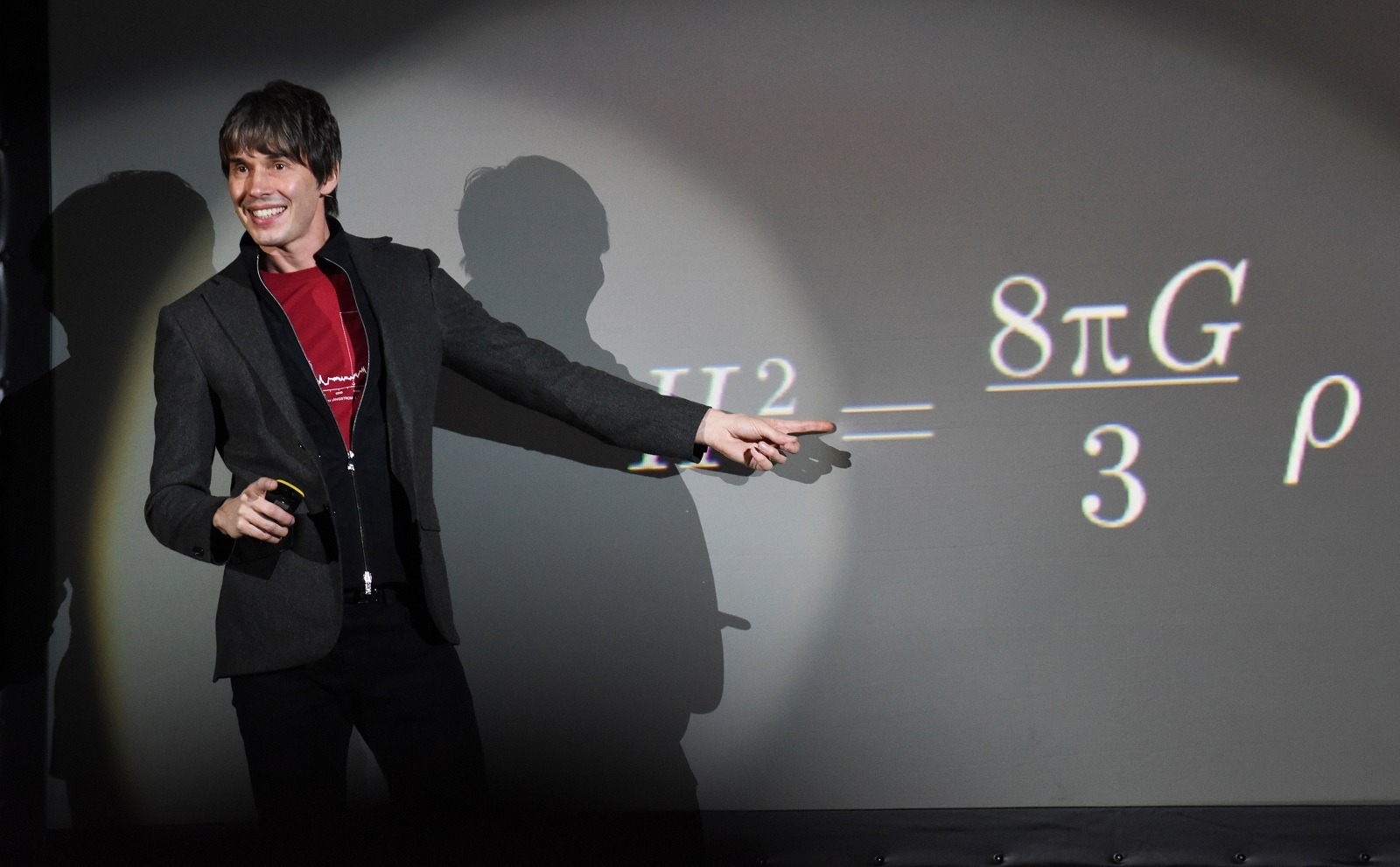 "Physicist Brian Cox, host of ""Wonders of the Solar System,"" travels to the ends of the earth to help viewers understand the laws of nature. (Photo by Nicky J. Sims/Getty Images)"