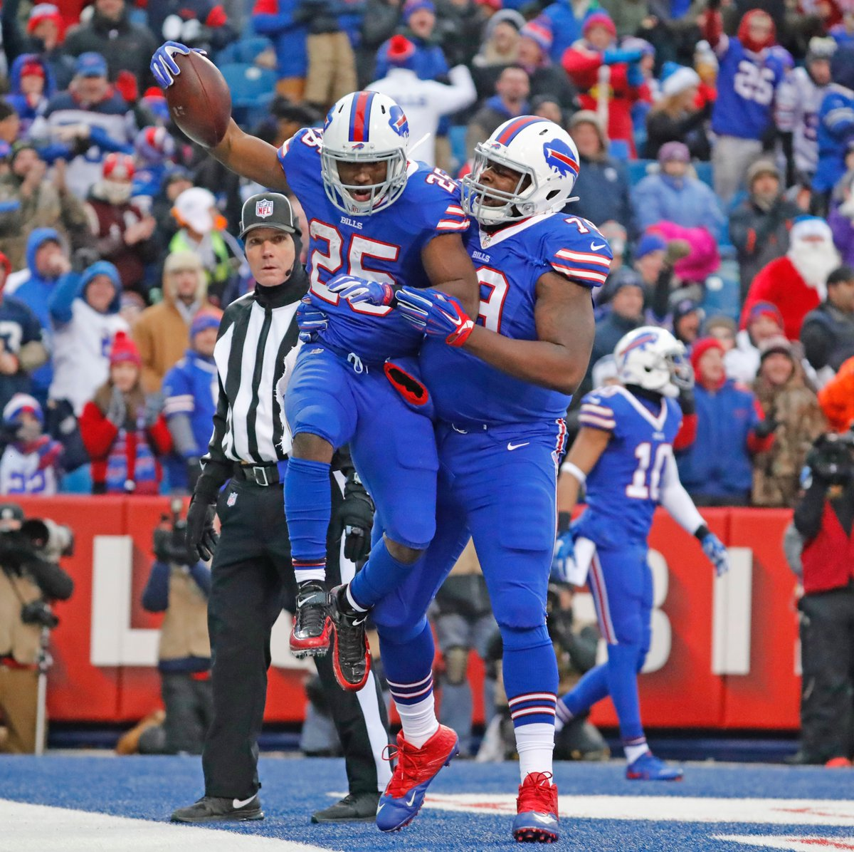 Bills running back LeSean McCoy has found joy entering his third season in Buffalo. (Harry Scull Jr./Buffalo News file photo)